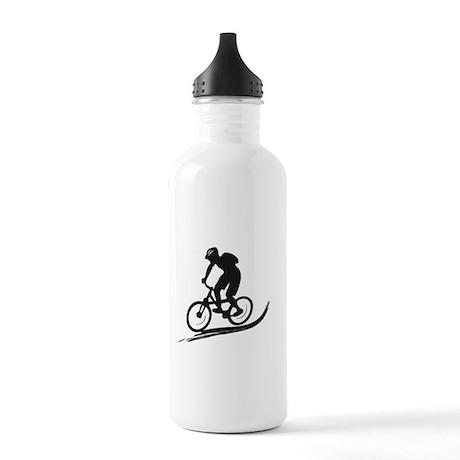 biker mtb mountain bike cycle downhill Stainless W