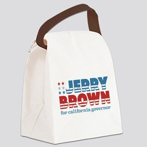 Jerry Brown for California Governor Canvas Lun