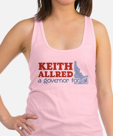Governor for All.png Racerback Tank Top