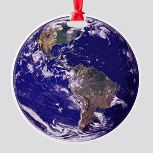 EARTH Round Ornament