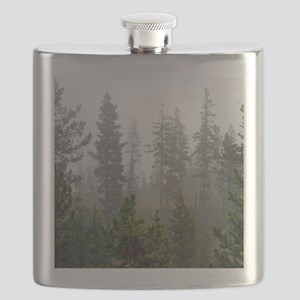 Misty forest Flask