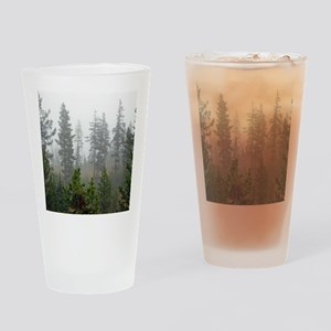 Misty forest Drinking Glass