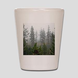 Misty forest Shot Glass