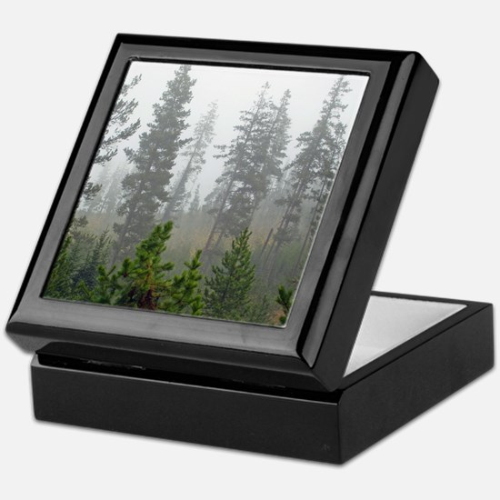 Misty forest Keepsake Box