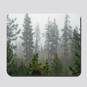 Misty forest Mousepad