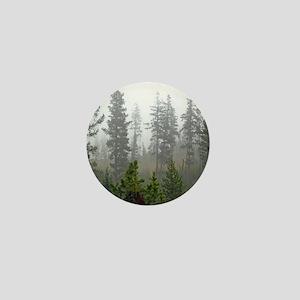 Misty forest Mini Button