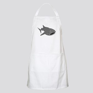 whale shark diver diving scuba Apron