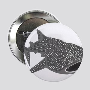 "whale shark diver diving scuba 2.25"" Button"