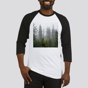 Misty forest Baseball Jersey