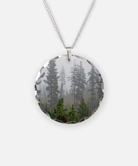 Misty forest Necklace
