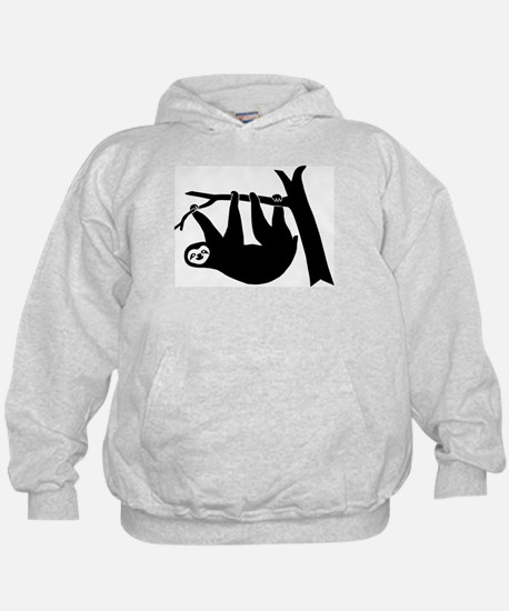 sloth lazy cute animal freeclimber climbing Hoody