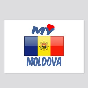 My Love Moldova Postcards (Package of 8)