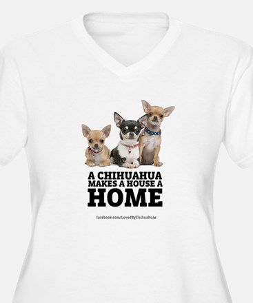 Home with Chihuahuas T-Shirt