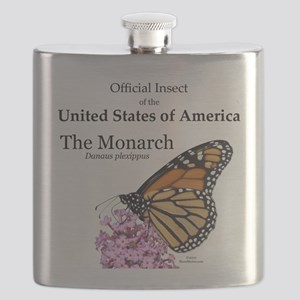Monarch Butterfly Flask