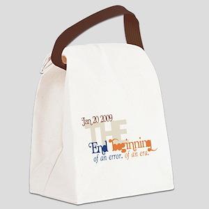 End of an Error Modern Canvas Lunch Bag