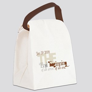 End of an Error Muted Canvas Lunch Bag