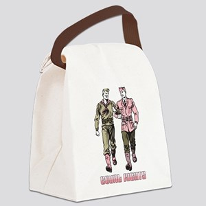 Gays in the Military Canvas Lunch Bag