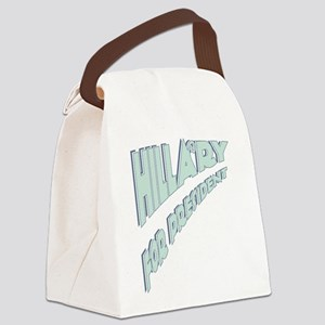 Hillary for President Canvas Lunch Bag