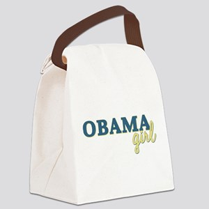Vintage Blue and Yellow Obama Girl transparent