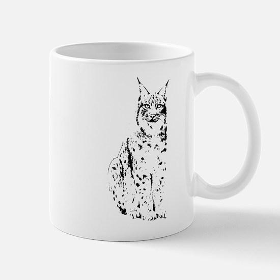 lynx cougar wild cat bobcat Mug