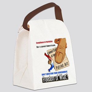 squashed Canvas Lunch Bag
