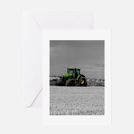 Working the Fields Greeting Card