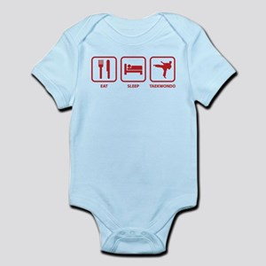 Eat Sleep Taekwondo Infant Bodysuit