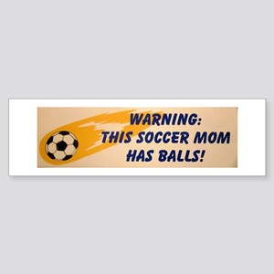 Soccer MOM Sticker (Bumper)
