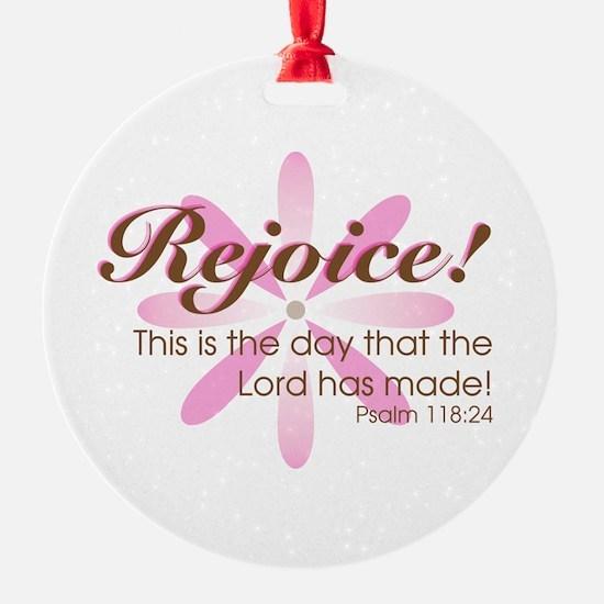 Rejoice! -- Ornament