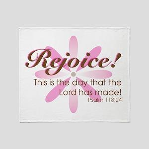 Rejoice! -- Throw Blanket