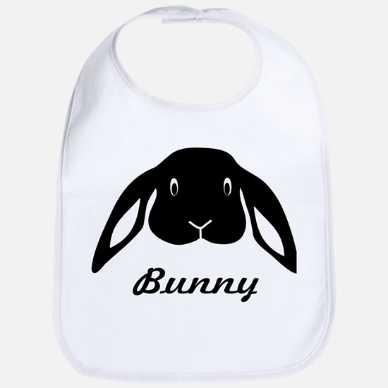 bunny hare rabbit cute Bib