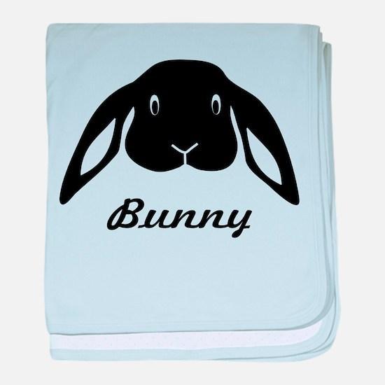 bunny hare rabbit cute baby blanket