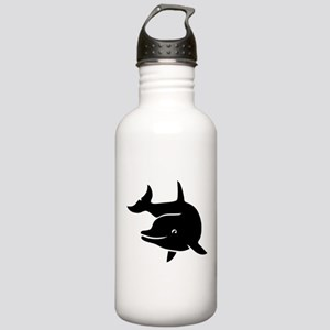 dolphin whale shark fish Stainless Water Bottle 1.