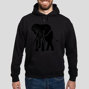 elephant Hoodie (dark)