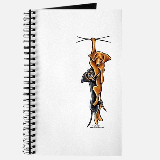 Clingy Dachshunds Journal