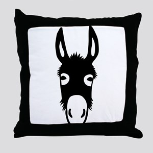 donkey mule horse ass jackass burro fool Throw Pil