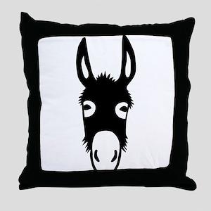 donkey mule horse ass jackass burro fool Throw Pil