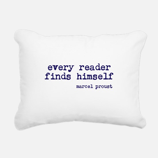 Every Reader Rectangular Canvas Pillow