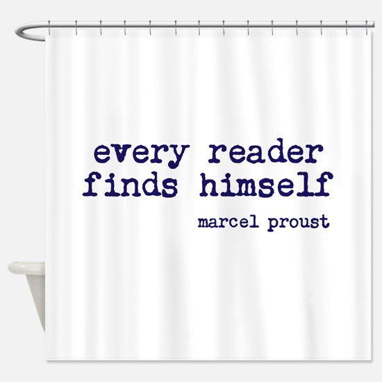 Every Reader Shower Curtain