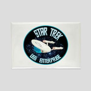 Star Trek USS Enterprise Rectangle Magnet