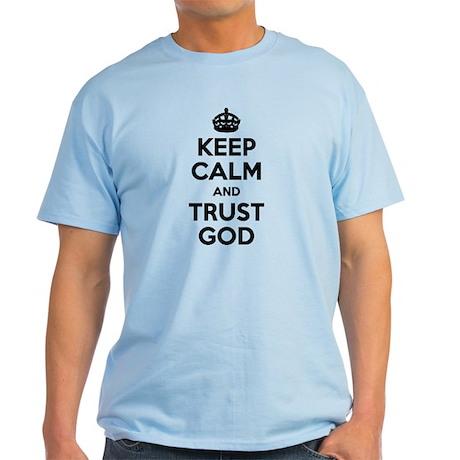 """""""Keep Calm"""" Light T-Shirt"""