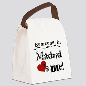 LOVESMEMADRID Canvas Lunch Bag