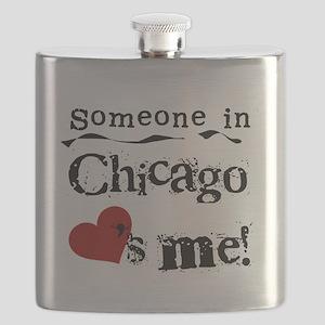 LOVESMECHICAGO Flask