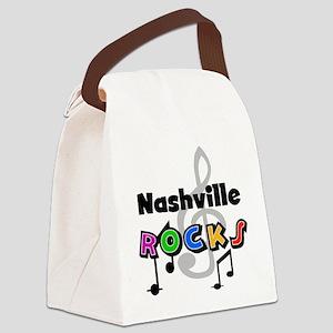 rocknashville Canvas Lunch Bag