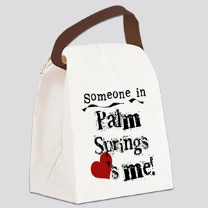 LOVESMEPALMSPRINGS Canvas Lunch Bag