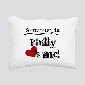 lovesmephilly2 Rectangular Canvas Pillow
