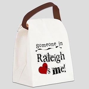 lovesmeraleigh Canvas Lunch Bag