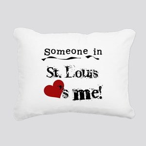 lovesmestlouis Rectangular Canvas Pillow