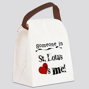 lovesmestlouis Canvas Lunch Bag