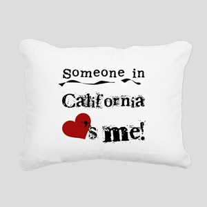 LOVESMECALIF Rectangular Canvas Pillow
